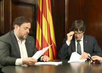El Constitucional anula el acuerdo para las leyes de ruptura de Cataluña