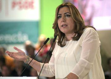 """Susana Díaz: """"Agradezco los apoyos, pero estoy centrada en Andalucía"""""""