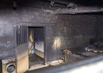 Mueren tres temporeros al arder el garaje en el que dormían en Jaén