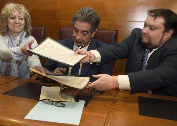 Ciudadanos firma su primer pacto con un partido regionalista