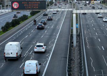 Madrid prohibirá por contaminación mañana el acceso a la mitad de los coches
