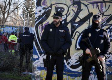 Detenidos en Madrid por posesión de equipamiento de armas y enaltecimiento