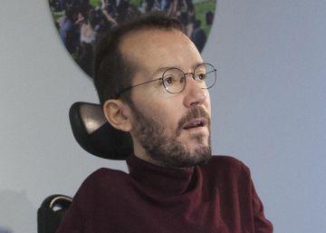 Echenique defiende que los cargos de Podemos se posicionen ante el congreso