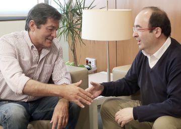 El PSC utilizará en su negociación con el PSOE el repunte en las encuestas