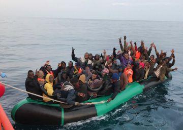 Interceptadas seis pateras en las costas andaluzas en los tres primeros días del año