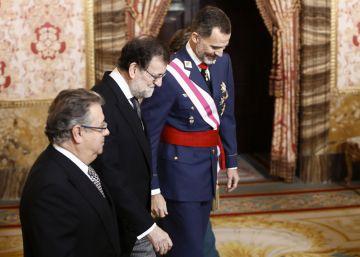 """El Rey llama a """"no escatimar esfuerzos"""" en la lucha contra el yihadismo"""