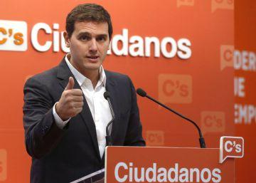 Rivera pide al Gobierno que ampare a los funcionarios que se opongan a otro 9-N