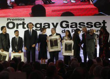 Convocada la 34º edición de los premios Ortega y Gasset