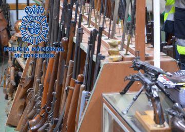 Incautadas 8.000 armas listas para ser vendidas en el mercado negro