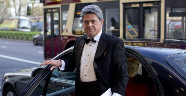 Federico Trillo, antes de una gala en Londres.