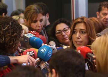 """Susana Díaz insta a lograr un PSOE """"integrador"""" y """"desacomplejado"""""""