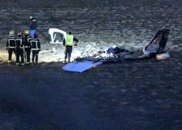 Dos muertos al estrellarse una avioneta en un pueblo de Toledo