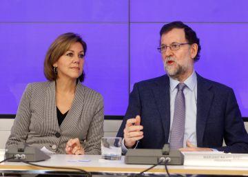 Rajoy apela a la unidad para acallar el debate de la continuidad de Cospedal