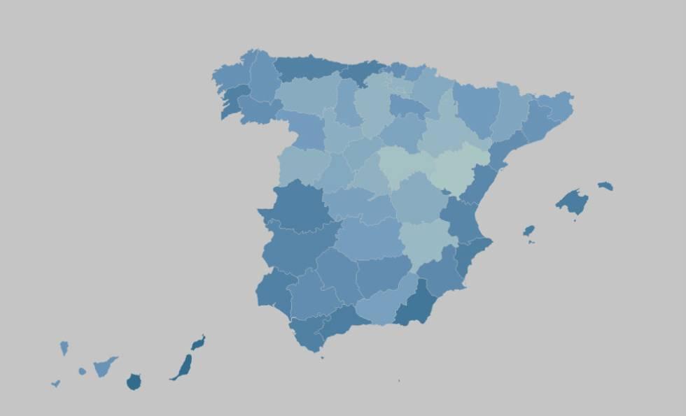 INTERACTIVO | Las temperaturas más bajas registradas en España desde 1920.