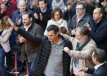 """Sánchez empieza en Sevilla su gira para """"escuchar a los militantes"""""""