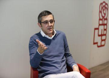 """Eduardo Madina: """"Los pactos de ahora son más de izquierda que el firmado con Rivera"""""""