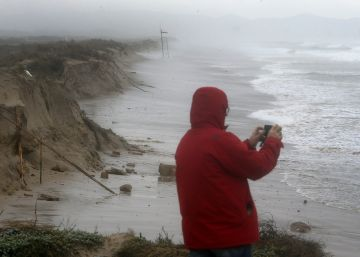 Carreteras cortadas por el temporal en la Comunidad Valenciana, Baleares y Aragón