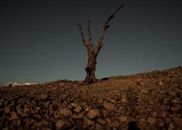 La Galicia sumergida aflora por la sequía insólita
