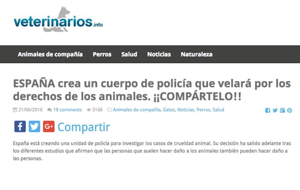 España también tiene noticias falsas