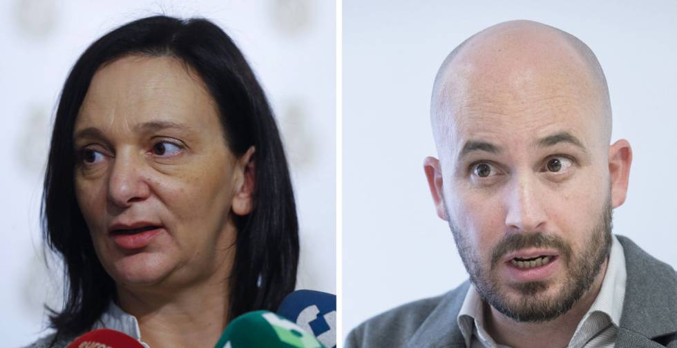 Carolina Bescansa y Nacho Álvarez, integrantes de Podemos