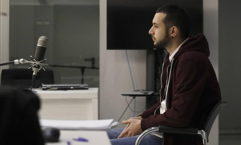Moya durante el juicio en la Audiencia Nacional hace una semana.