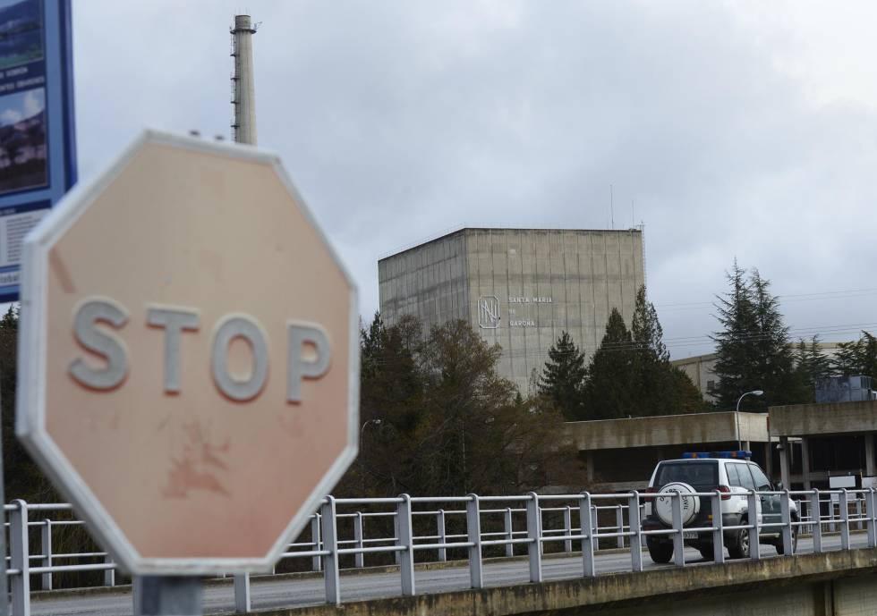 Central nuclear de Santa María de Garoña, Burgos.