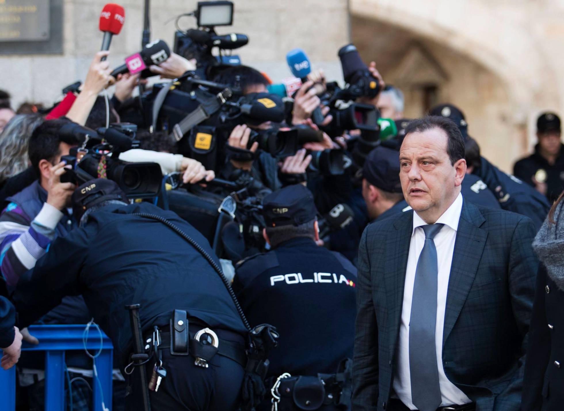 Horrach sugiere que pedirá prisión eludible bajo fianza para Urdangarin