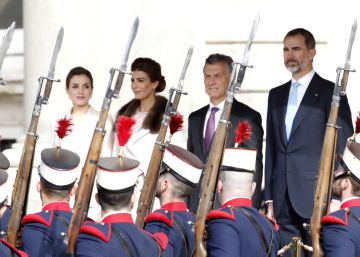 Argentina's President Macri begins state visit to Spain with speech in Congress