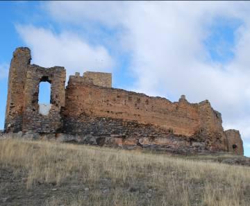 El castillo de Trasmoz, del que se dice que fue construido en una sola noche por un nigromante.