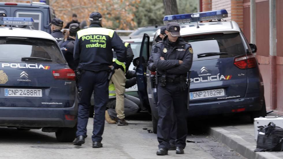 Operativo policial en Mallorca.