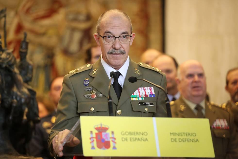 El nuevo Jefe de Estado Mayor de la Defensa, Fernando Alejandre.