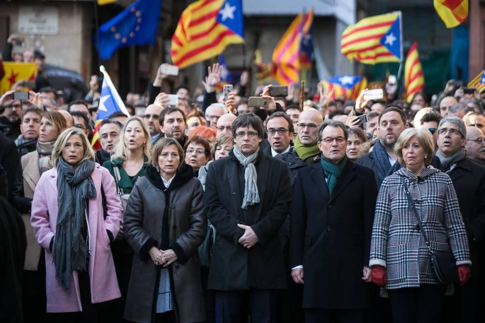 Juicio contra Artur Mas, Irene Rigau y Joana Ortega por la consulta del 9N.
