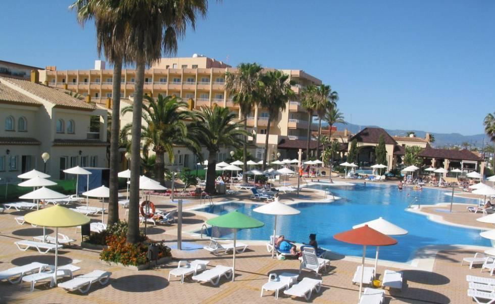 El hotel Pueblo Camino Real, de Torremolinos.