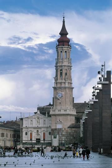 Catedral de San Salvador de Zaragoza.