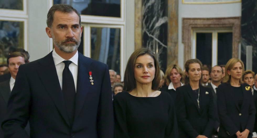 El Rey y la infanta Cristina se reencuentran tras la absolución en el 'caso Nóos'