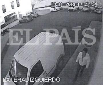 Diego P. en una gasolinera de Chiclana de la Frontera (Cádiz) en noviembre de 2015.