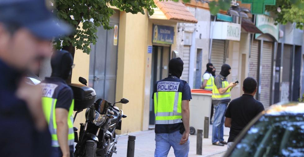 Yihadistas detenidos