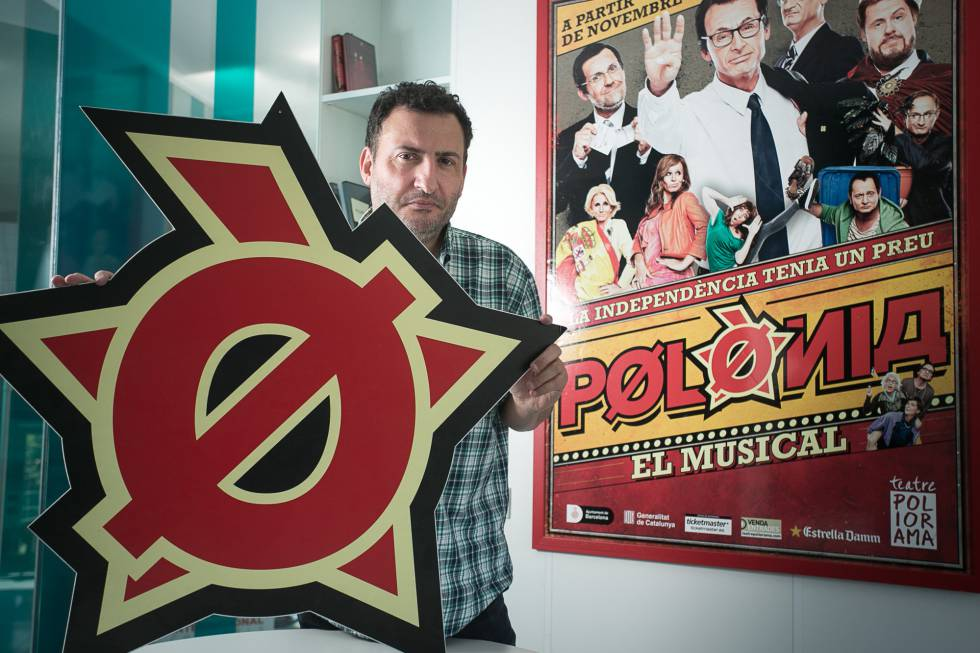 Toni Soler, periodista y director del programa televisivo satírico 'Polònia'.
