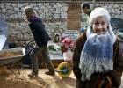 Ascensión Mendieta recupera a los 91 años los restos de su padre, fusilado en 1937