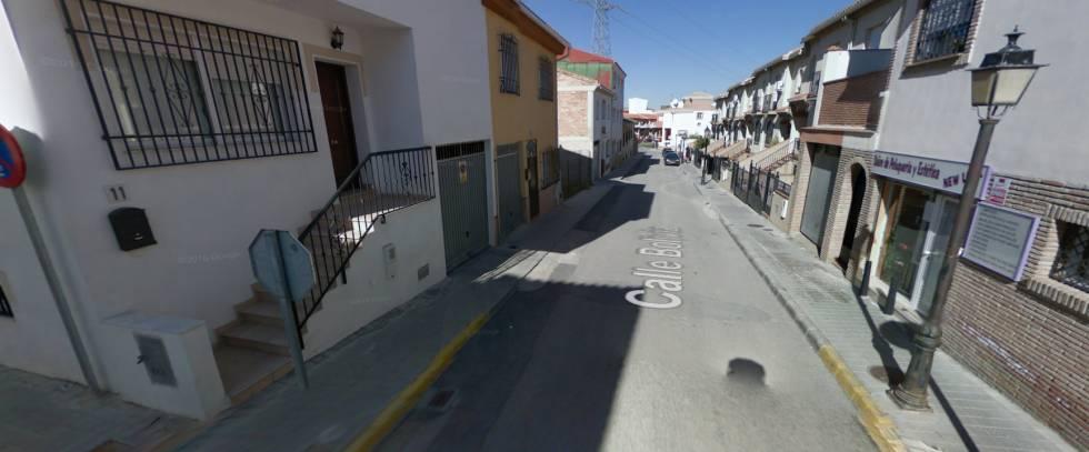 Calle Bolivia de Gabia Grande (Granada).