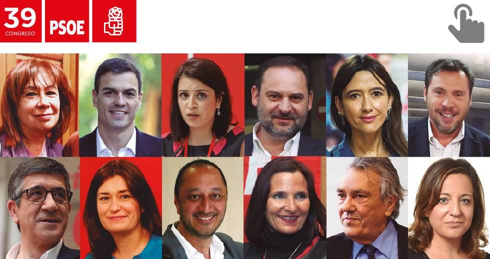 Sánchez se rodea de una dirección del PSOE de su absoluta confianza