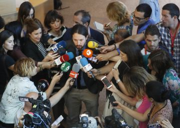Spain's Podemos excludes media, including EL PAÍS, from press event
