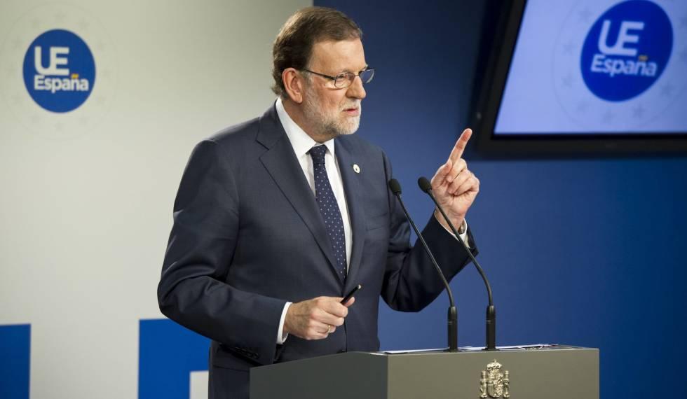 Mariano Rajoy, el pasado viernes en Bruselas.