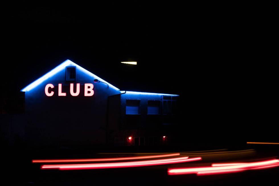 Un club de alterne de Galicia, en una imagen captada la semana pasada.