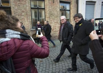 Puigdemont's life in his Belgian refuge