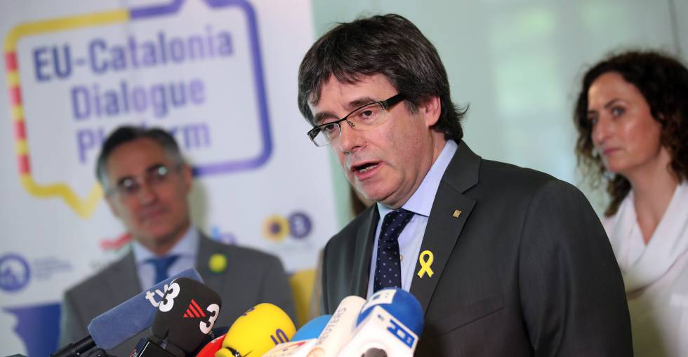 Ousted Catalan leader Carles Puigdemont is in Germany