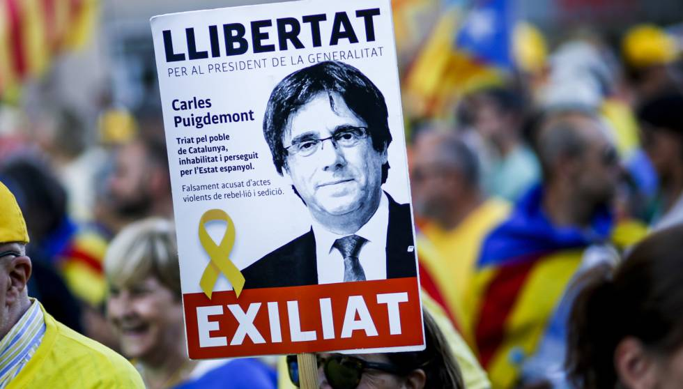 Spain drops worldwide arrest warrants for Catalan separatists