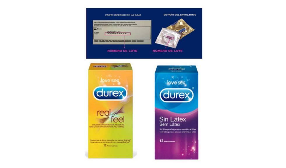 Durex retira varios lotes de condones por riesgo de rotura