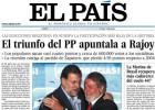 Las portadas de EL PAÍS en las 10 últimas elecciones de ámbito nacional