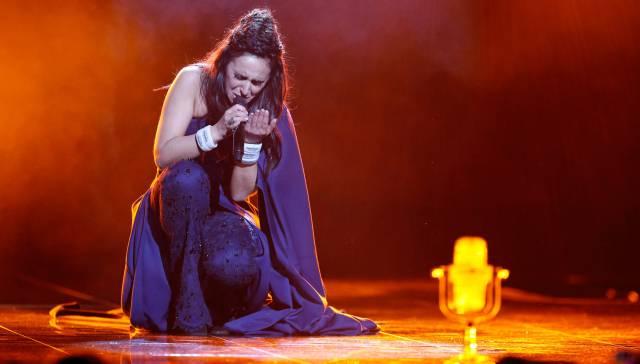 Jamala, ganadora de Eurovisión por Ucrania.